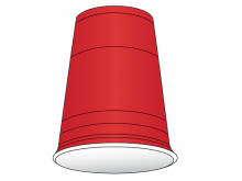 flip cup drinking game
